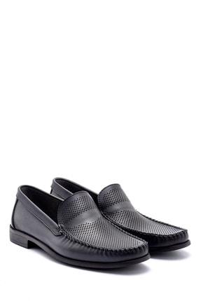 Derimod Erkek Gri Deri Loafer 2