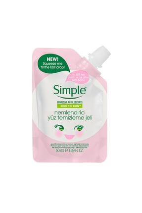 Simple Kind To Skin Mini Nemlendirici Yüz Temizleme Jeli 50 Ml 1