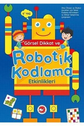 Beyaz Balina Yayınları Görsel Dikkat Robotik Kodlama Etkinlikleri (6+ Yaş) 0