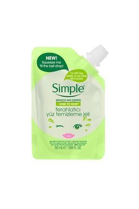 Simple Kind To Skin Mini Ferahlatıcı Yüz Temizleme Jeli 50 Ml 1