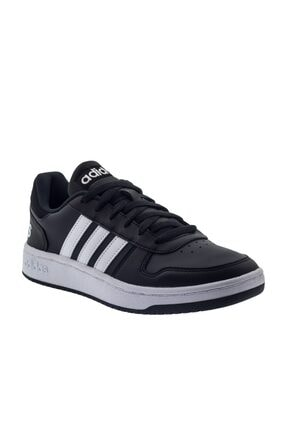 adidas Erkek Siyah Hoops 2.0 Spor Ayakkabı b44699 1