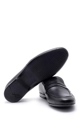 Derimod Erkek Siyah Deri Klasik Loafer 2