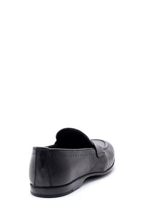 Derimod Erkek Siyah Deri Klasik Loafer 3