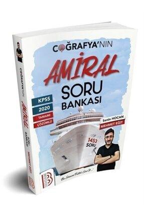 Benim Hocam Yayınları Kpss Tamamı Çözümlü Amiral Coğrafya Soru Bankası 0