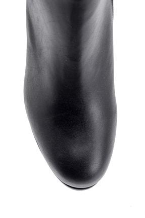 Derimod Kadın Siyah  Topuklu Bot 4