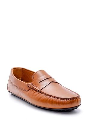 Derimod Erkek Taba  Deri Casual Loafer 1