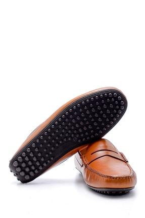 Derimod Erkek Taba  Deri Casual Loafer 3