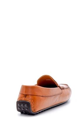 Derimod Erkek Taba  Deri Casual Loafer 4