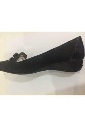 Ceyo 249-05 Siyah Nubuk Bayan Anatomik Ayakkabı 2