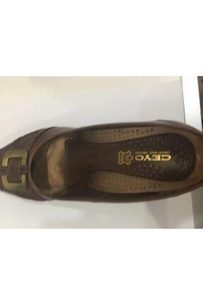 Ceyo 12156-5 Kahve Bayan Anatomik Ayakkabı 1