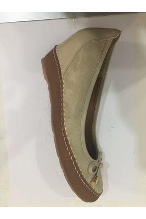 Ceyo Kadın Bej Anatomik Dolgu Topuk Ayakkabı 1