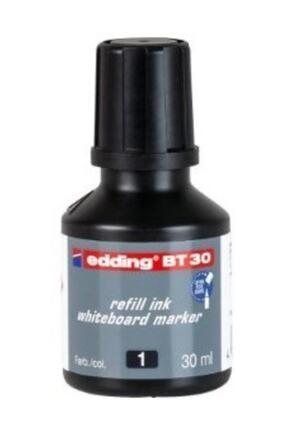 Edding BT30 Whiteboard Marker Ink Siyah Yazı Tahtası Kalemi Mürekkebi 30 ml 0