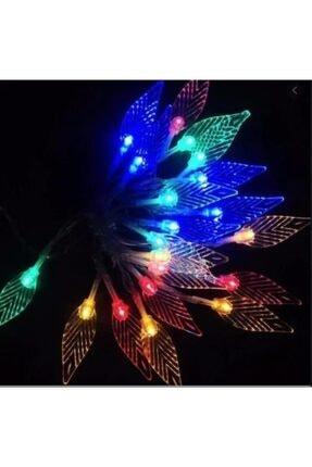 Niyet Led Işık - Yaprak Led - Karışık Renk - 3 Mt - Dekoratif - Aydınlatma 0