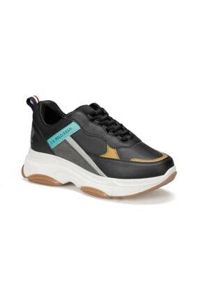 US Polo Assn BETSY 9PR Siyah Kadın Sneaker Ayakkabı 100417775 0