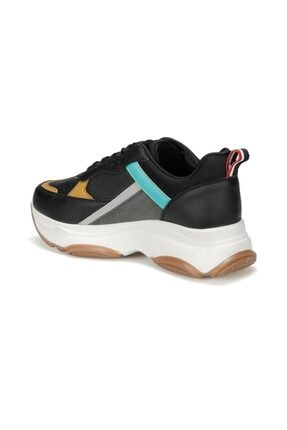 US Polo Assn BETSY 9PR Siyah Kadın Sneaker Ayakkabı 100417775 2