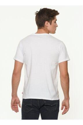 Levi's Erkek Beyaz Sportswear Logo Graphic T-shirt 2