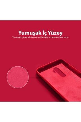 Mobilteam Xiaomi Redmi Note 8 Kılıf Içi Kadife Lansman Kapak - Lila 1