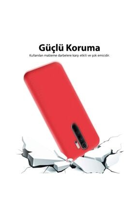 Mobilteam Xiaomi Redmi Note 8 Kılıf Içi Kadife Lansman Kapak - Lila 2