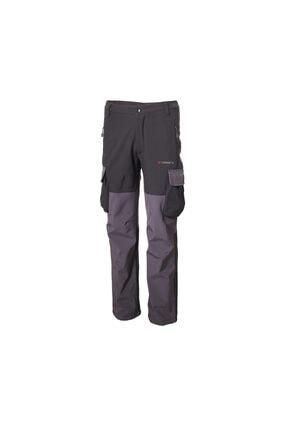 Erkek Siyah Kargo Cepli Softshell Outdoor Pantolon 1501-M