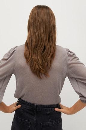 Mango Kadın Pastel Pembe Tişört 87010035 2