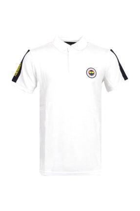 Fenerbahçe Erkek Beyaz Trıbun Basıc Polo 0