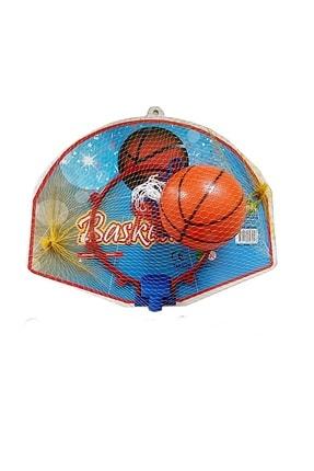 Arpaç Plastik Büyük Boy Çocuk Basketbol Potası Ve Basketbol Topu 0
