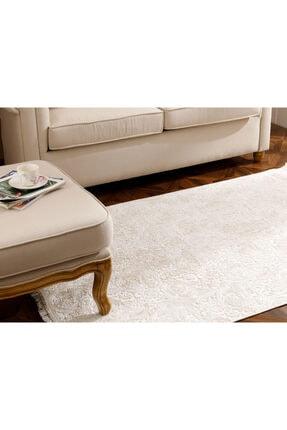 English Home Bej Şal Desen Polyester Halı 120x180 cm 1