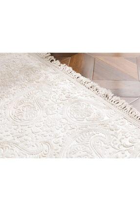 English Home Bej Şal Desen Polyester Halı 120x180 cm 2