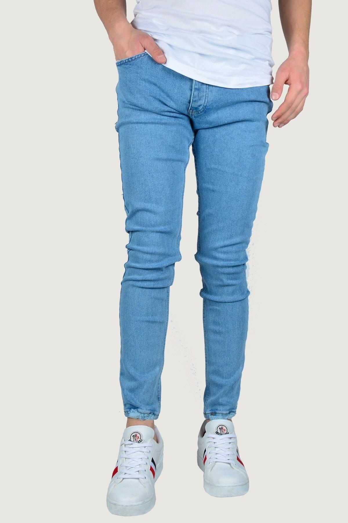 Terapi Men Erkek Kot Pantolon 8K-2100306-004-1 Buz Mavisi 3