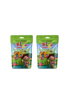 Voonka Kids Niloya Gummies Omega 3-dha 60 Adet x 2 Adet 0