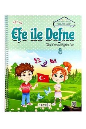 Netbil Yayınları 4 Yaş Efe Ile Defne Okul Öncesi Eğitim Seti 12 Kitap 3