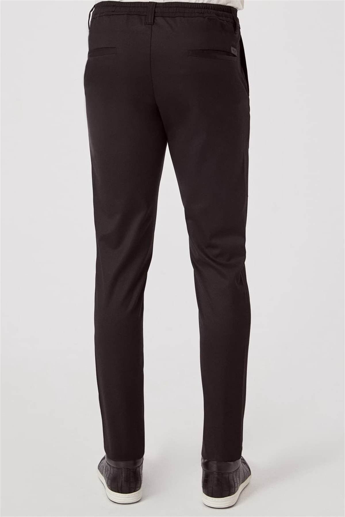 Efor ATP 015 Rahat Kesim Siyah Spor Pantolon 3