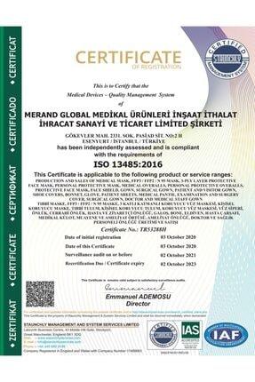 Merand Global 3 Katlı Spunbond Cerrahi Maske - 1 Kutu ( Kutu Içi 50 Adet ) - Siyah 4