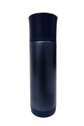 Hediyeler Kapında Sızdırmaz Paslanmaz Çelik Lacivert Termos 400 Ml 0