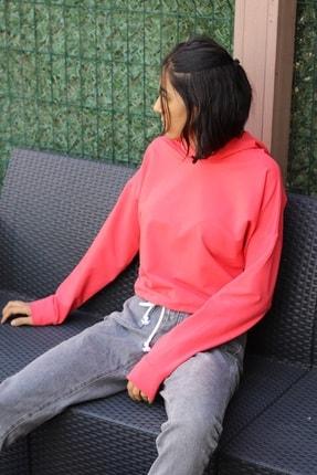 Endaze Kadın Nar Çiçeği Sweatshirt 1