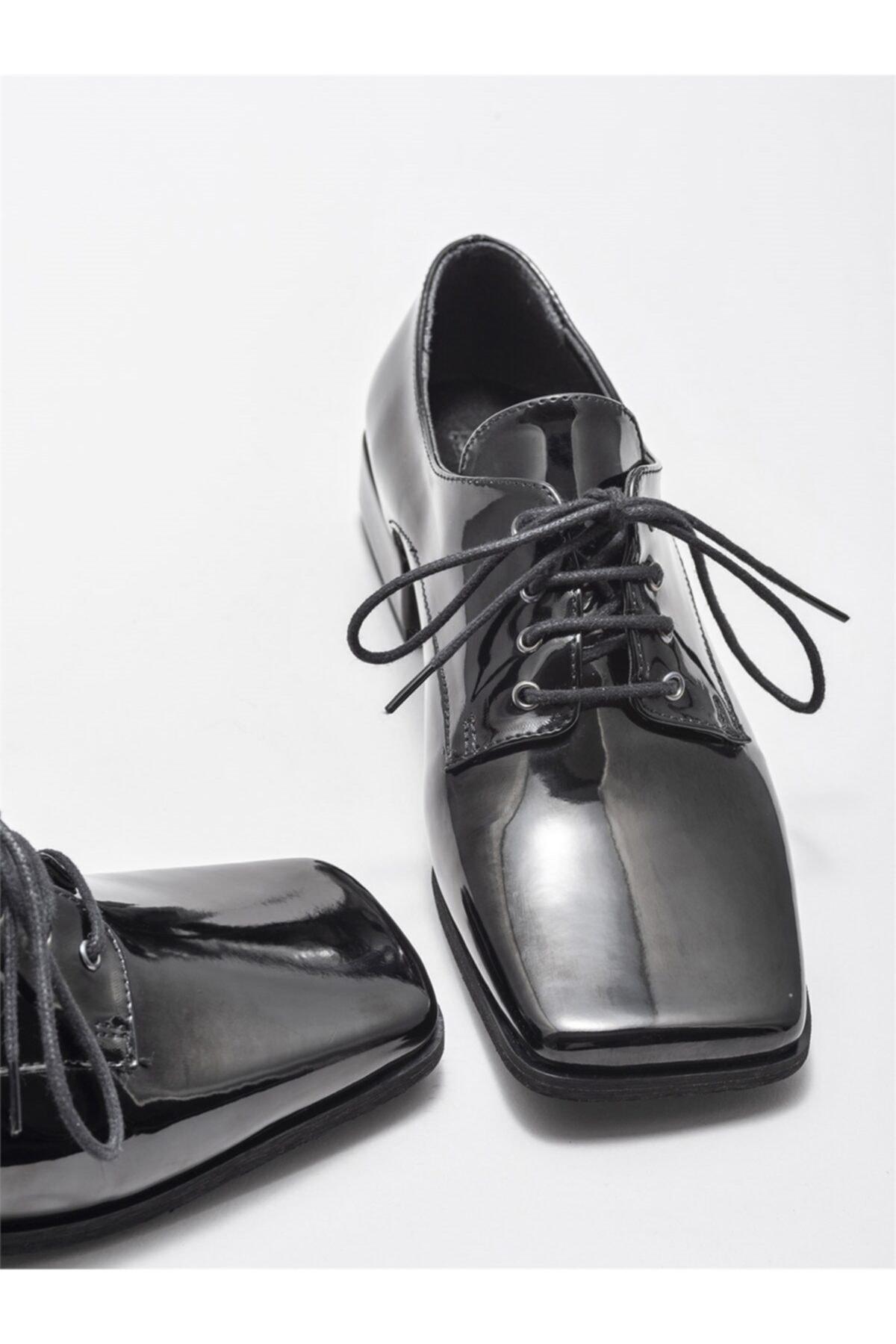 Elle Kadın Siyah Oxford Ayakkabı