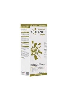 Solante Antiox Güneş Koruyucu Losyon Spf50 150 ml 0