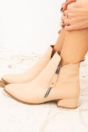 Fox Shoes Ten Suni Deri Kadın Bot G820001309 2