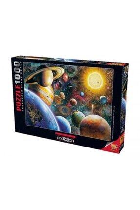 Anatolian Puzzle Gezegenler Planets In Space 1000 Parça Puzzle - Yapboz 0