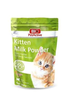 Bio PetActive Kitten Milk Powder Yavru Kedi Için Süt Tozu 200gr 0