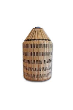 Yamamiya Dayanıklı Şık Hasır Bambu Damacana Kılıfı 1