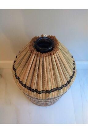 Yamamiya Dayanıklı Şık Hasır Bambu Damacana Kılıfı 3