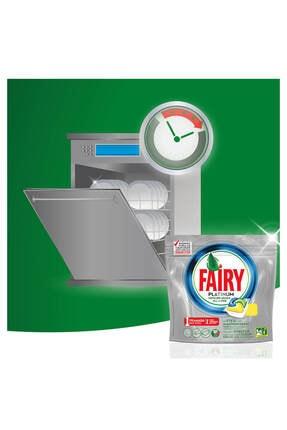 Fairy Platinum Bulaşık Makinesi Limon Deterjanı 72 Tablet 4