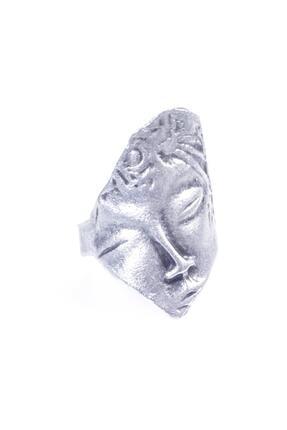 LABALABA Kadın Antik Gümüş Kaplama Uyuyan Güzel Yüzük 1