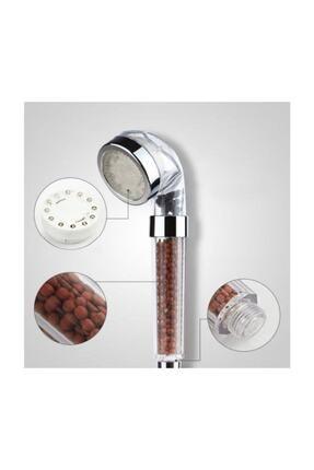 ustuneyok Kokulu Duş Başlığı + 130 Cm Duş Hortumu + Duş Mafsalı 3parça Set 4