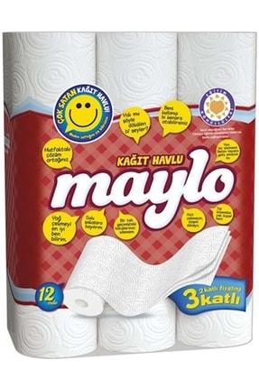 Maylo Tuvalet Kağıdı 3 Katlı 32 Li Paket+ 12 Li Kağıt Havlu (3 Katlı) 2