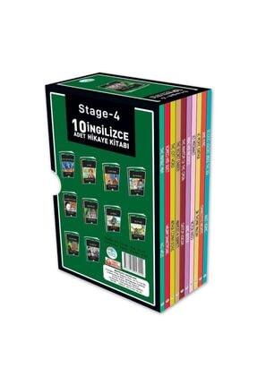 Mavi Çatı Yayınları Stage-4 Ingilizce Hikaye Seti 10 Kitap Maviçatı Yayınları 1