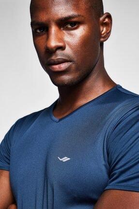 Lescon Erkek Safir Mavi T-shirt 20s-1221-20b 3
