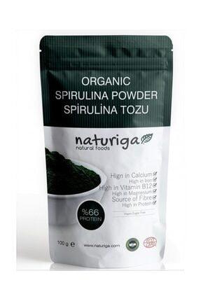 Naturiga Organik Spirulina Tozu 100 G 0