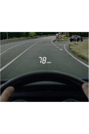 ROBSAN Araç Bilgilerini Cama Yansıtma Cihazı A100 Head Up Display Obd 3.5 Inç Hd 3